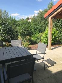 Terrasse vue jardin